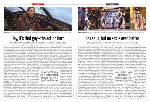 Article Preview: Hey, it's that guy—the action hero, August 2014 | Maclean's