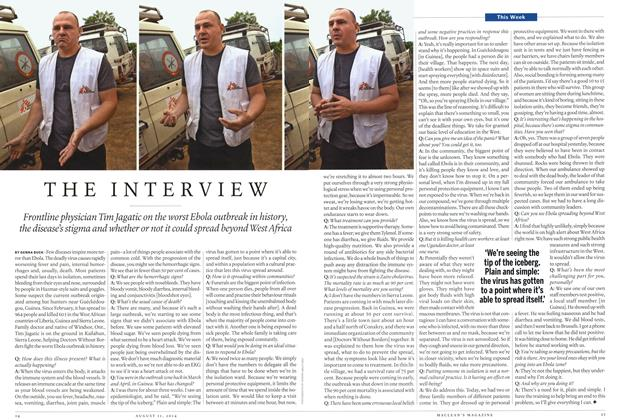 Article Preview: THE INTERVIEW, August 2014 | Maclean's