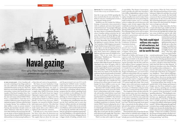 Article Preview: Naval gazing, August 2014 | Maclean's
