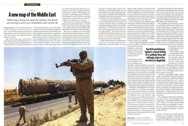 Article Preview: A new map of the Middle East, August 2014 | Maclean's