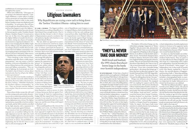 Article Preview: 'THEY'LL NEVER TAKE OUR MOVIE!', August 2014 | Maclean's