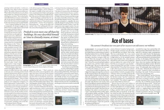 Article Preview: Ace of bases, August 2014 | Maclean's