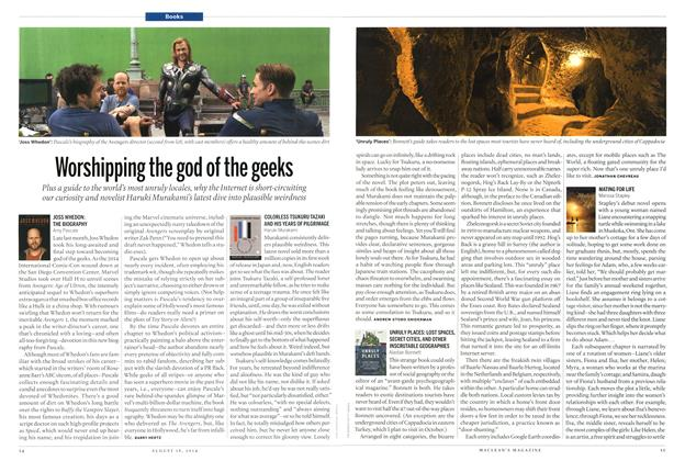 Article Preview: Worshipping the god of the geeks, August 2014 | Maclean's