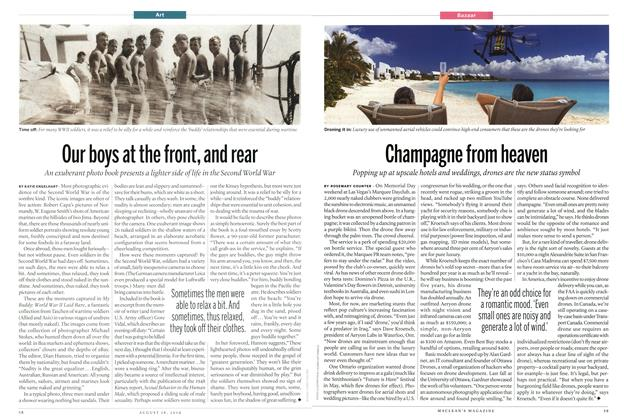 Article Preview: Champagne from heaven, August 2014 | Maclean's