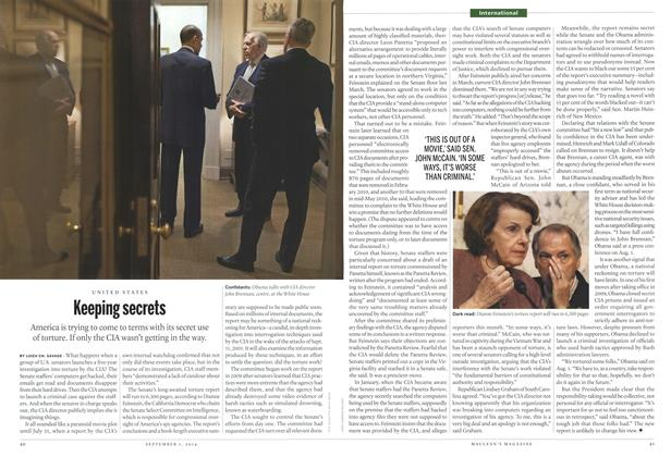 Article Preview: Keeping secrets, September 2014 | Maclean's