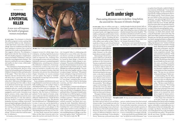 Article Preview: Earth under siege, September 2014 | Maclean's