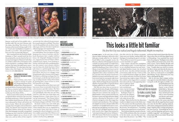 Article Preview: MACLEAN'S BESTSELLERS, September 2014 | Maclean's