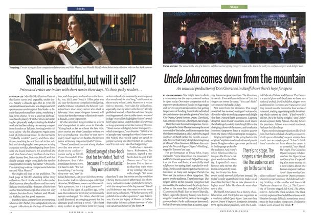 Article Preview: Uncle John comes down from the mountain, September 2014 | Maclean's
