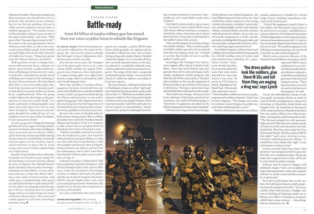 Article Preview: Battle-ready, September 2014 | Maclean's