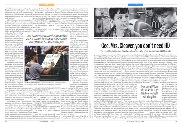 Article Preview: Gee, Mrs. Cleaver, you don't need HD, September 2014 | Maclean's