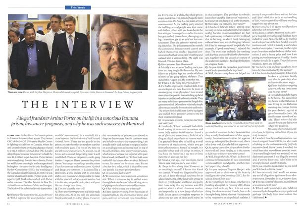 Article Preview: THE INTERVIEW, September 2014   Maclean's