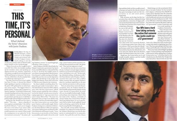 Article Preview: THIS TIME, IT'S PERSONAL, September 2014 | Maclean's