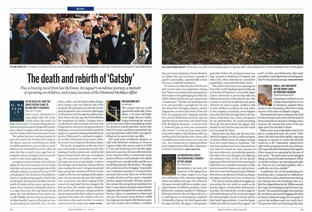 Article Preview: The death and rebirth of 'Gatsby', September 2014 | Maclean's