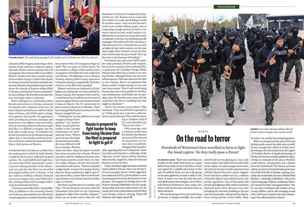 Article Preview: On the road to terror, September 2014 | Maclean's
