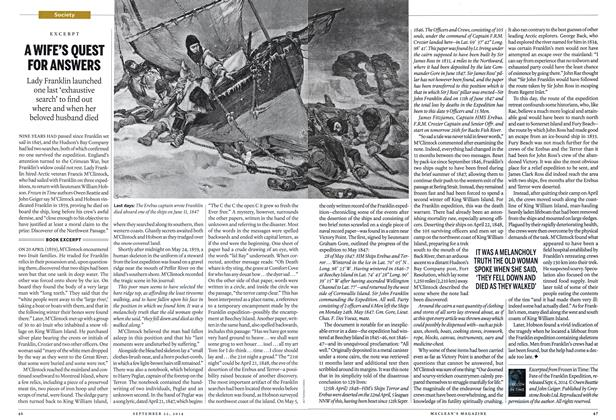 Article Preview: A WIFE'S QUEST FOR ANSWERS, September 2014 | Maclean's