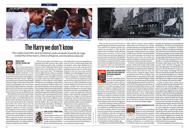 Article Preview: The Harry we don't know, September 2014 | Maclean's