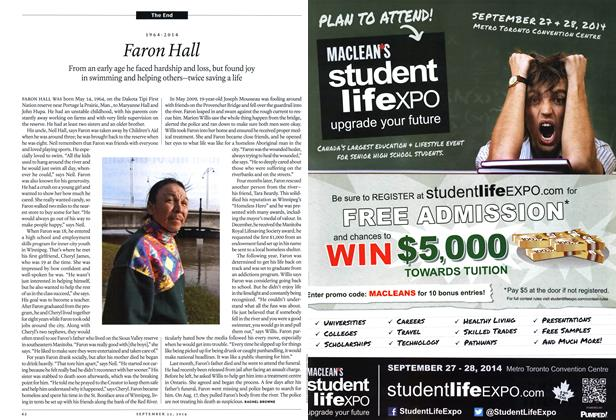 Article Preview: Faron Flail, September 2014 | Maclean's