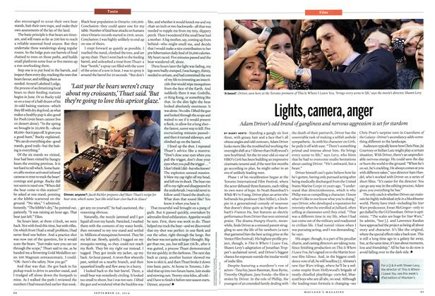 Article Preview: Lights, camera, anger, September 2014 | Maclean's
