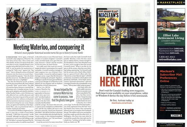 Article Preview: Meeting Waterloo, and conquering it, September 2014 | Maclean's