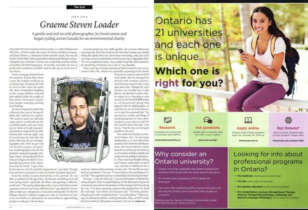 Article Preview: Graeme Steven Loader, September 2014 | Maclean's