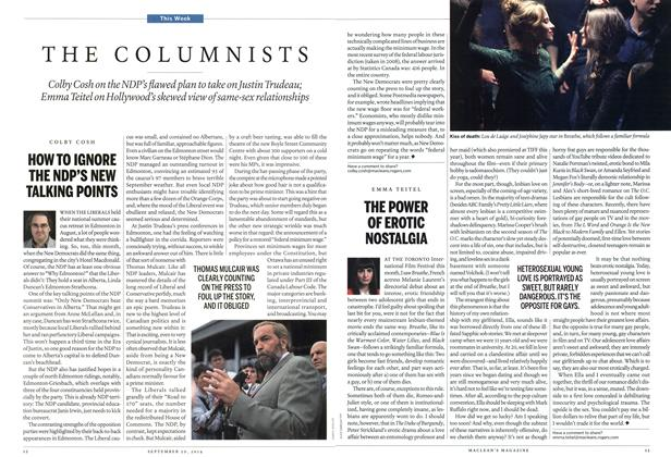 Article Preview: THE COLUMNISTS, September 2014 | Maclean's