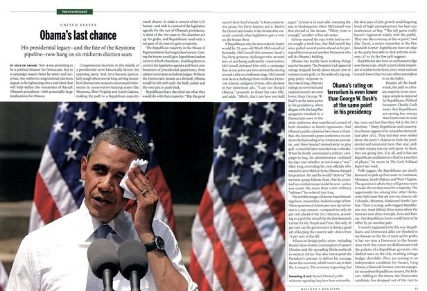 Article Preview: Obama's last chance, October 2014 | Maclean's
