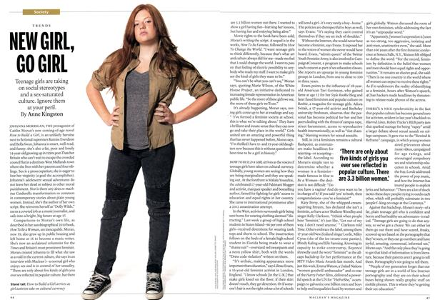 Article Preview: NEW GIRL, GO GIRL, October 2014 | Maclean's