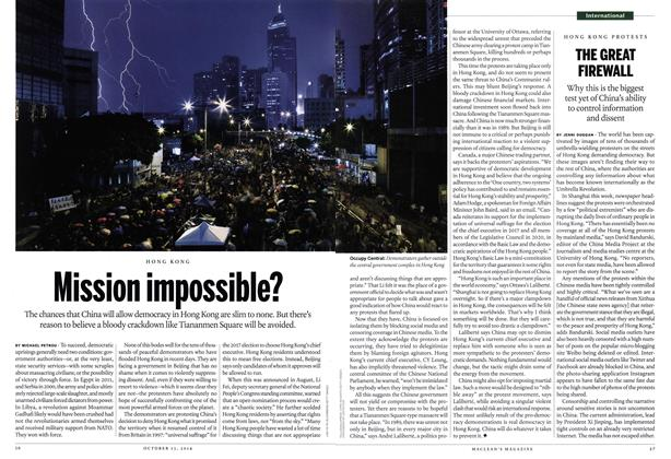 Article Preview: Mission impossible?, October 2014 | Maclean's