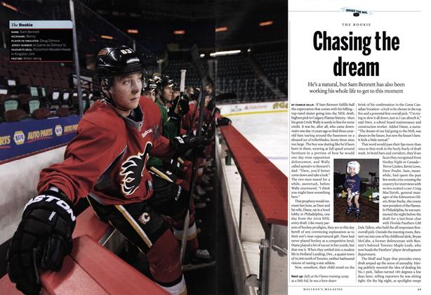 Article Preview: Chasing the dream, October 2014 | Maclean's