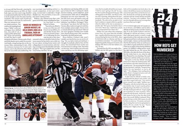 Article Preview: HOW REFS GET NUMBERED, October 2014 | Maclean's