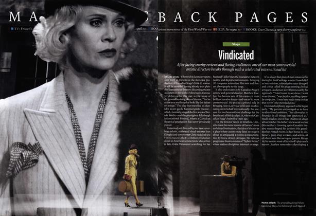 Article Preview: Vindicated, October 2014   Maclean's