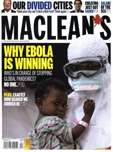 Issue: - OCTOBER 27' 2014 | Maclean's