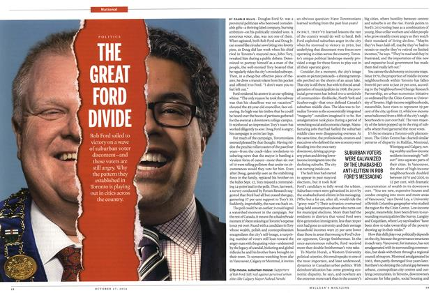 Article Preview: THE GREAT FORG DIVIDE, OCTOBER 27' 2014 2014 | Maclean's