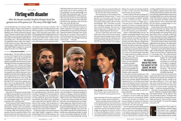 Article Preview: Flirting with disaster, OCTOBER 27' 2014 2014 | Maclean's