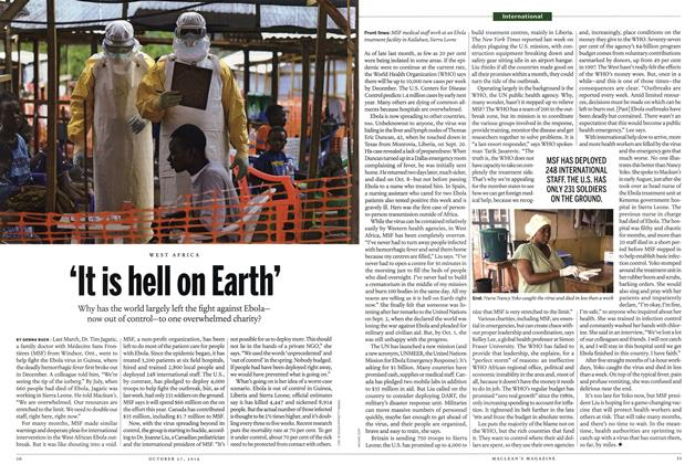 Article Preview: 'It is hell on Earth', OCTOBER 27' 2014 2014 | Maclean's