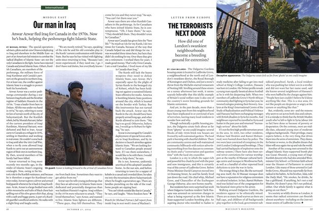 Article Preview: Our man in Iraq, OCTOBER 27' 2014 2014 | Maclean's