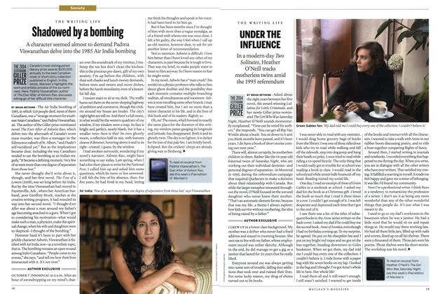 Article Preview: Shadowed by a bombing, OCTOBER 27' 2014 2014 | Maclean's