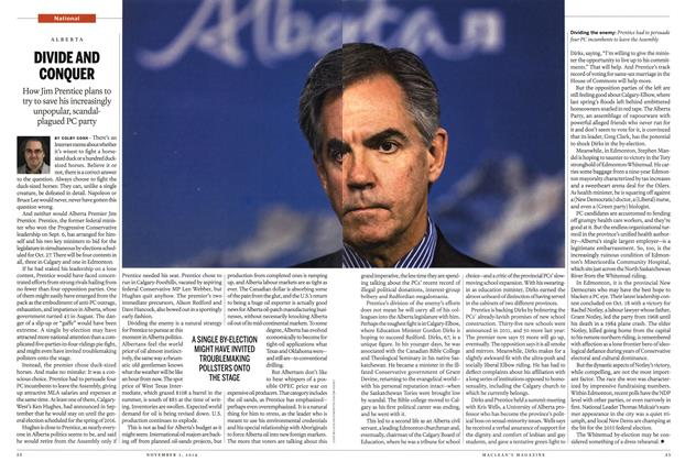 Article Preview: DIVIDE AND CONQUER, November 2014 | Maclean's