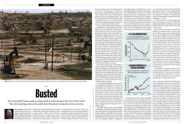 Article Preview: Busted, November 2014 | Maclean's