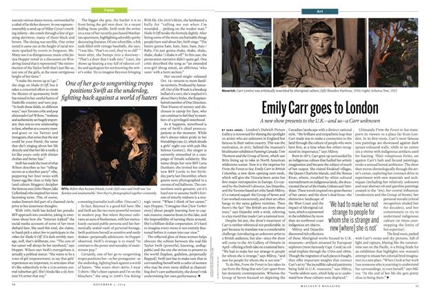 Article Preview: Emily Carr goes to London, November 2014 | Maclean's