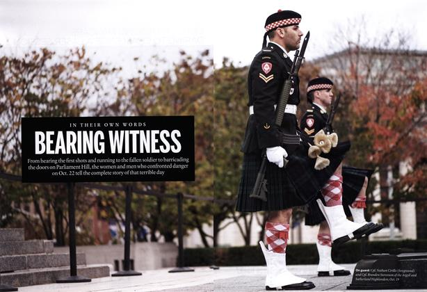Article Preview: BEARING WITNESS, November 2014 | Maclean's