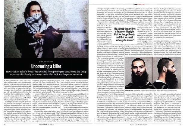 Article Preview: Uncovering a killer, November 2014 | Maclean's
