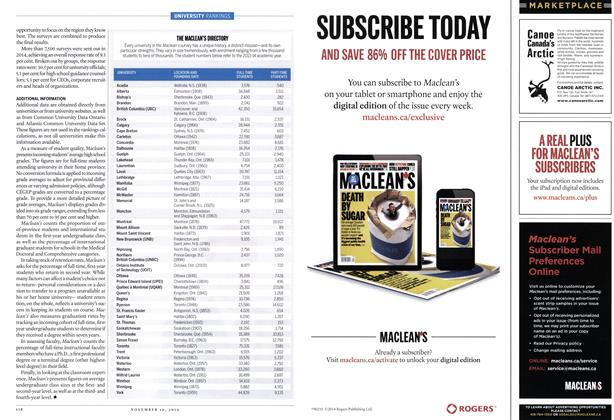 Article Preview: MARKET PLACE, November 2014 | Maclean's