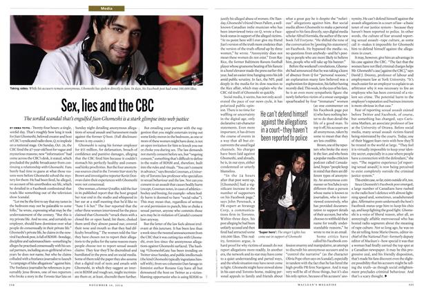 Article Preview: Sex, lies and the CBC, November 2014   Maclean's