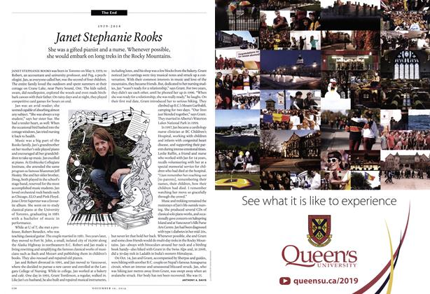 Article Preview: 1959-2014 Janet Stephanie Rooks, November 2014 | Maclean's