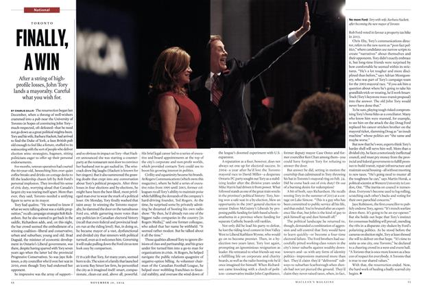 Article Preview: FINALLY, A WIN, November 2014 | Maclean's