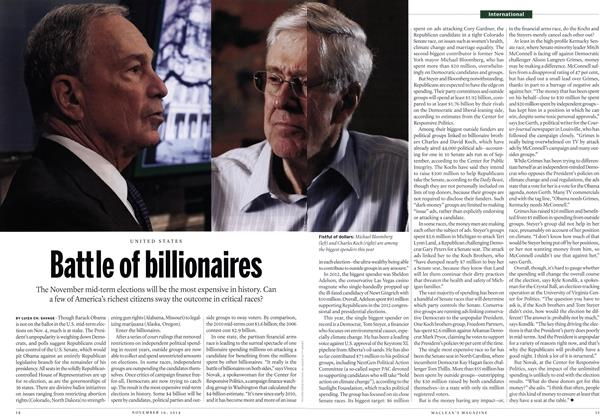 Article Preview: Battle of billionaires, November 2014 | Maclean's