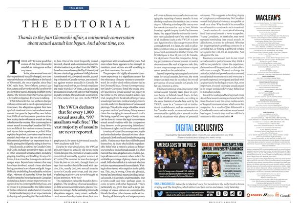 Article Preview: THE EDITORIAL, November 2014 | Maclean's