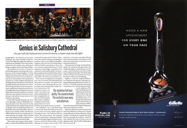 Article Preview: Genius in Salisbury Cathedral, November 2014 | Maclean's