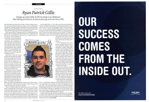 Article Preview: 1984-2014 Ryan Patrick Gillis, November 2014   Maclean's